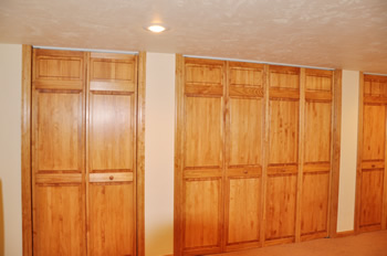 Closets after remodeling